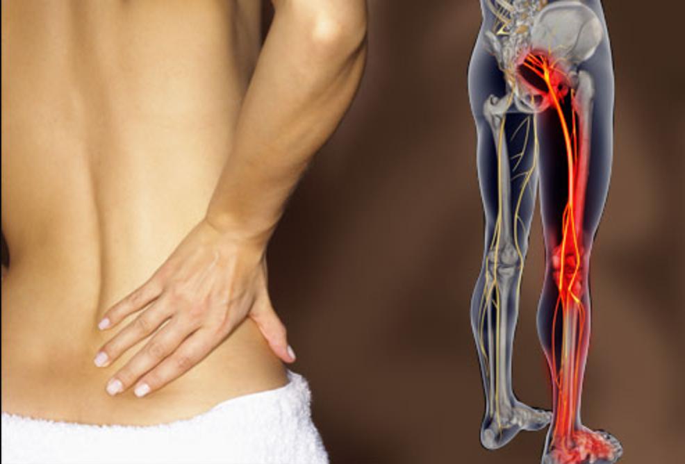 Боль от позвоночника под коленку